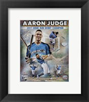 Framed Aaron Judge 2017 Home Run Derby Champion Composite  88th MLB All-Star Game