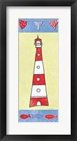 Framed Coastal Lighthouse I