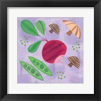 Framed Veggie Time III