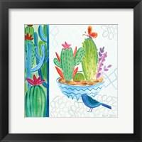 Framed Cacti Garden II