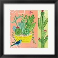 Framed Cacti Garden IV