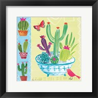 Framed Cacti Garden III