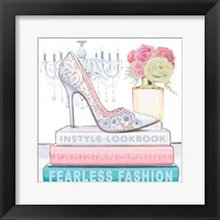 Fearless Fashion IV Framed Print