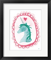 Framed Unicorn Magic II with Border