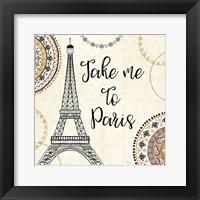 Framed Romance in Paris I