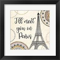 Framed Romance in Paris II