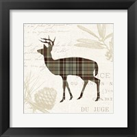 Framed Plaid Lodge II Tan