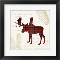 Framed Plaid Lodge IV