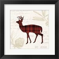 Framed Plaid Lodge II