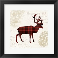 Framed Plaid Lodge I