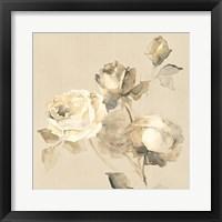 Framed Rose Blossoms Crop