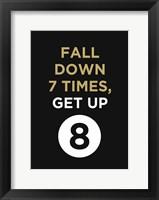Framed Fall Down