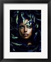 Framed Shimmering Goddess