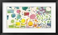 Framed Multicolor Pattern I
