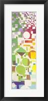 Framed Multicolor Pattern II