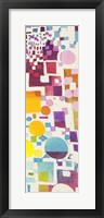 Framed Multicolor Pattern III