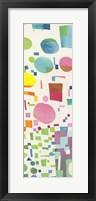 Framed Multicolor Pattern IV