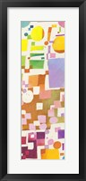 Framed Multicolor Pattern V