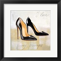 Framed I Love my Pumps