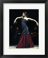 Framed Encantado por Flamenco