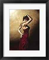 Framed Flamenco Woman