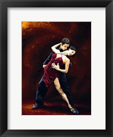 Framed Passion of Tango