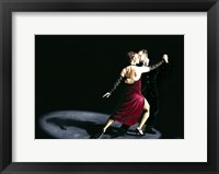 Framed Rhythm of Tango