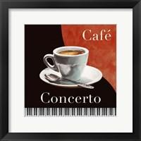 Framed Cafe Concerto