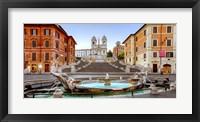 Framed Piazza di Spagna, Roma