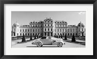 Framed At Belvedere Palace, Vienna