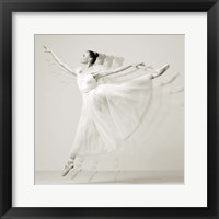 Framed Leaping Beauty (detail)