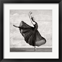 Framed Ballerina Dancing (detail)