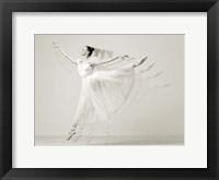 Framed Leaping Beauty