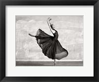Framed Ballerina Dancing
