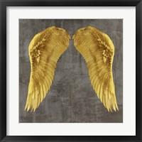 Framed Angel Wings I