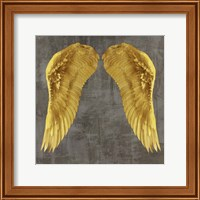 Framed Angel Wings I