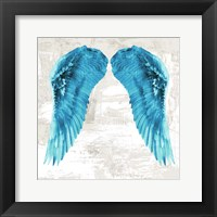 Framed Angel Wings II
