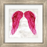 Framed Angel Wings III