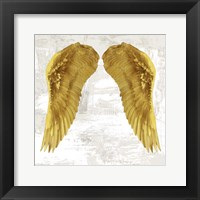 Framed Angel Wings IV