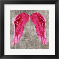 Framed Angel Wings VI
