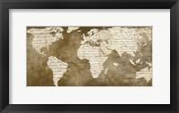 Framed Words for the World