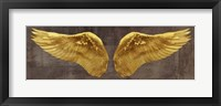 Framed Angel Wings (Gold I)