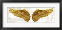 Framed Angel Wings (Gold II)