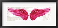 Framed Angel Wings (Pink)