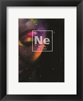 Framed Neon Element