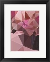 Framed Purple Mountsin