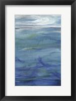 Framed Deep Blue I