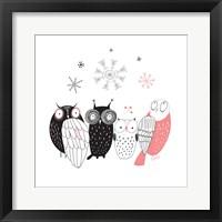 Framed Owl IV