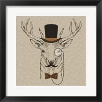 Framed Deer-man