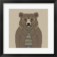 Framed Bear-man